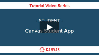 Students - Canvas Student App Video