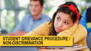DSPS - Student Grievance Procedure / Non-Discrimination at GWC