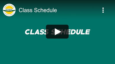 Class Schedule - Video