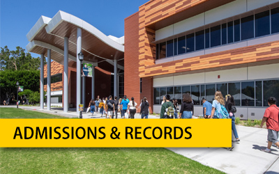 Admissions and Records - Student Services Online Resources
