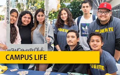 Campus Life - Student Services Online Resources