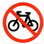 icon for no bicycles