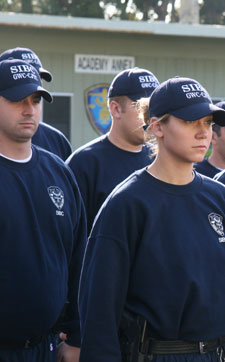 Recruits Standing Attention