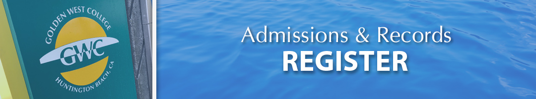 Admissions & Records - Register