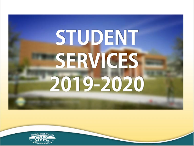 Student Services slideshow [PDF]