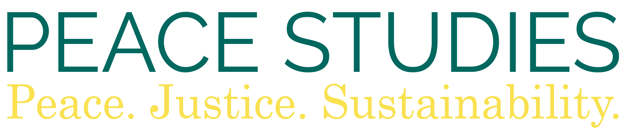 Peace Studies Logo