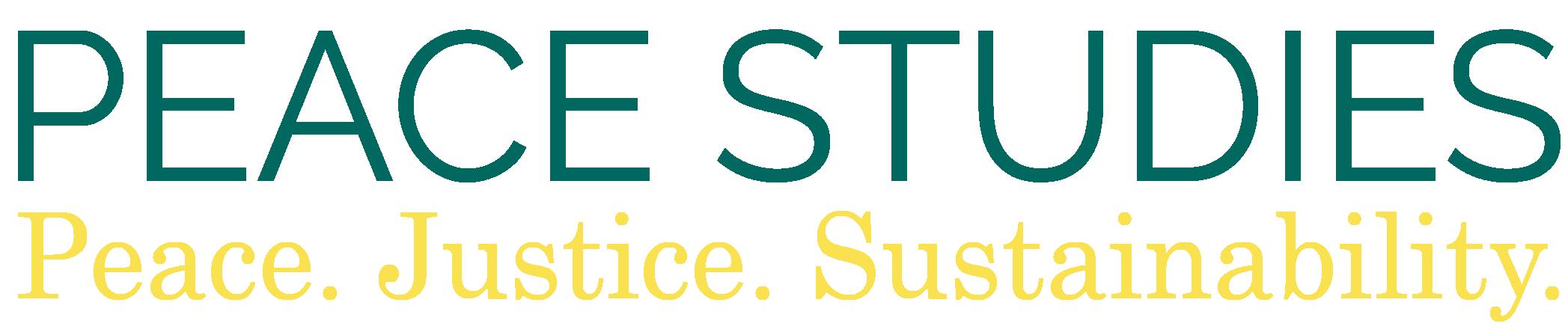 Peace Studies Logo