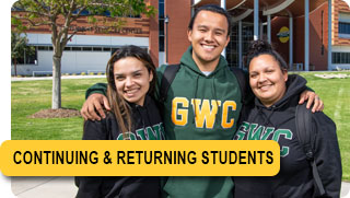 Admissions - Continuing & Returning GWC Students